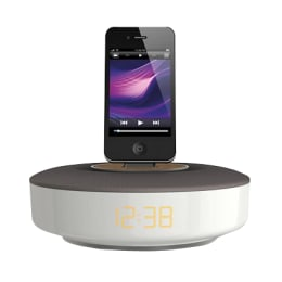 Philips Dock Speaker for iPod/iPhone (DS1150, White/Grey)_1