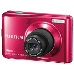 Fujifilm FinePix 12 MP Digital Camera (C25, Red)_1