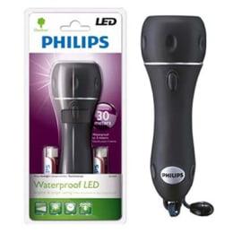 Philips Waterproof LED Flashlight Torch (SFL5050, Black)_1