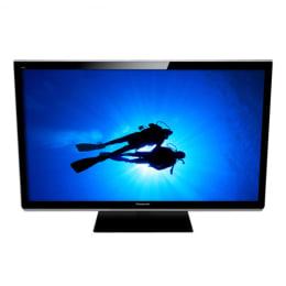 Panasonic 107 cm (42 inch) HD Ready 3D Plasma TV (Black, TH-P42XT50)_1