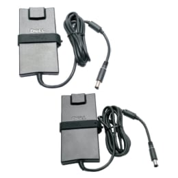 Dell 90 Watt Wall Charging Adapter with Cable (As Per Stock Availability)_1