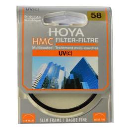 Hoya UV (C) 58 mm Slim Frame Lens Filter for Canon (Y5UV058, Black)_1