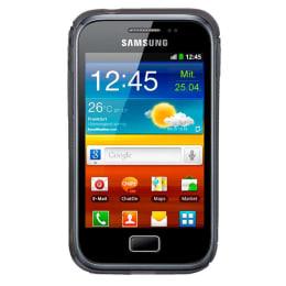 KingCom Polycarbonate Soft Back Case Cover for Samsung Galaxy Ace Plus (SC 137, Transparent)_1