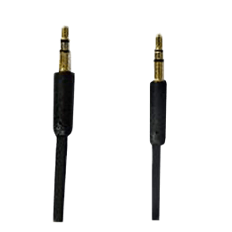 Croma 200 cm 3.5mm Flat Stereo Aux Cable (EE0549, Black)_1