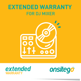 Onsitego 1 Year Extended Warranty for DJ Machine (Rs.0 - Rs.5,000)_1