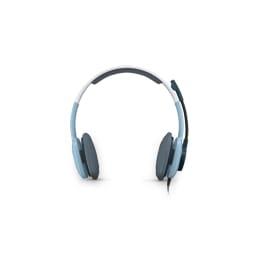 Logitech H250 PC Headset (Light Blue)_1