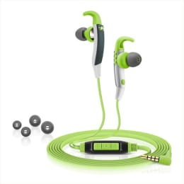 Sennheiser Sports In-Ear Wired Earphones with Mic (CX 686G, Green)_1