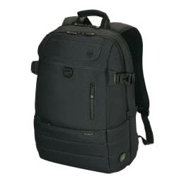 Targus EcoSmart Emerald GREEN Backpack for 16 Inch Laptop (TBB566, Black)_1
