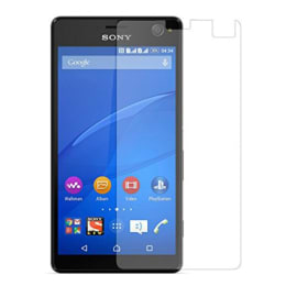 Stuffcool Supertuff Tempered Glass Screen Protector for Sony Xperia C4 (GPSYC4, Transparent)_1