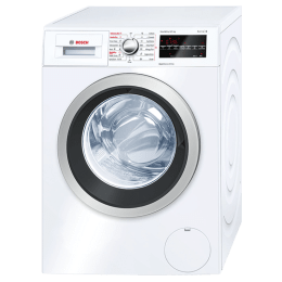 Bosch Serie 6 8 kg/5 kg Fully Automatic Front Load Washer Dryer Combo (EcoSilence Drive, WVG30460IN, White)_1