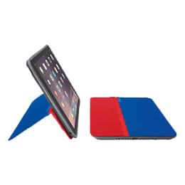 Logitech Any Angle Flip Case for Apple iPad Air 2 (939-001142, Red/Blue)_1