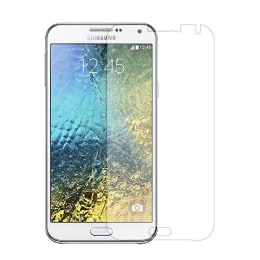 Stuffcool Tempered Glass Screen Protector for Samsung Galaxy E7 (GPSGE7, Transparent)_1