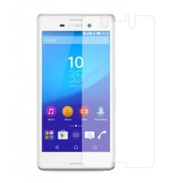 Stuffcool Tempered Glass Screen Protector for Sony Xperia M4 (GPSYM4, Transparent)_1