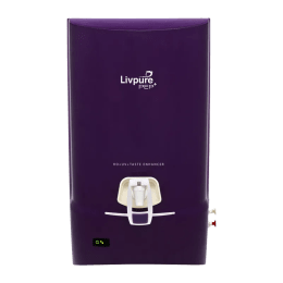 Livpure 7 Litres Pep Plus RO + UV Water Purifier with Taste Enhancer (Purple)_1