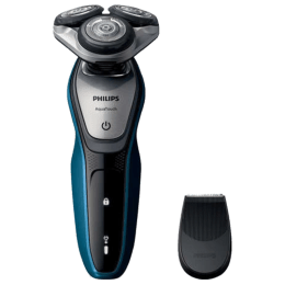 Philips AquaTouch Cordless Wet & Dry Shaver (45 Min Run Time/1h Charge, S5420/06, Neptune Blue/Charcoal Grey)_1