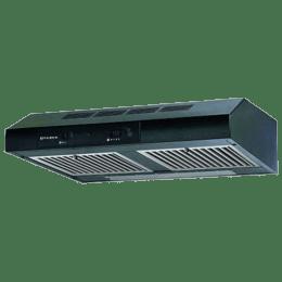 Faber 600 m³/hr 60cm Wall Mount Chimney (3 Layer Baffle Filter, CF 601 LTW, Black)_1