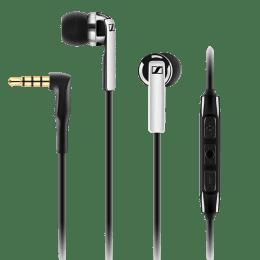 Sennheiser In-Ear Wired Earphones with Mic (CX 2.00G, Black)_1