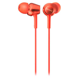 Sony In-Ear Wired Earphones with Mic (MDR-EX255AP, Red)_1