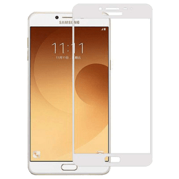 Stuffcool Mighty 2.5D Tempered Glass Screen Protector for Samsung Galaxy C9 Pro (MGGP25DSGC9P, White)_1