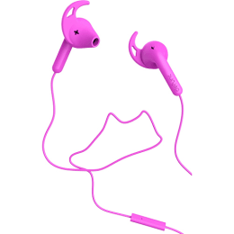 Defunc Go Sport In-Ear Wired Earphones with Mic (Pink)_1