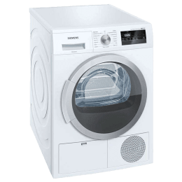 Siemens iQ300 8 kg Fully Automatic Front Load Dryer (Anti-Vibration Design, WT44B202IN, White)_1