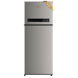 Whirlpool 245 L 3 Star Frost Free Double Door Refrigerator (NEO DF258ROY, Steel)_1