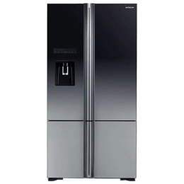 Hitachi 647 Litres Frost Free Inverter French Door Refrigerator (Bottom Mount, Built-in Stabilizer, R-WB730PND6X-XGR, Grey)_1