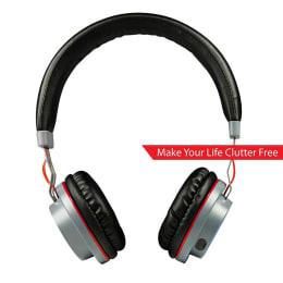 boAt Rockerz 390 On Ear Headphones (Red)_1
