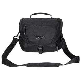 Croma Fabric DSLR Shoulder Pouch (IA2004, Black)_1