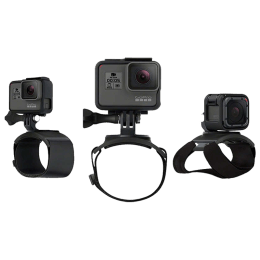 Go Pro Hand Wrist and Leg Camera Mount (AHWBM-001, Black)_1
