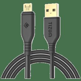 Tizum 200 cm USB (Type-A) to Micro USB Cable (TZ-CS-502-BLK, Black)_1