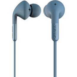 Defunc Plus Music In-Ear Wired Earphones with Mic (Blue)_1