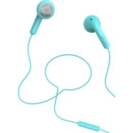 Defunc Go Talk In-Ear Wired Earphones with Mic (Cyan)_1