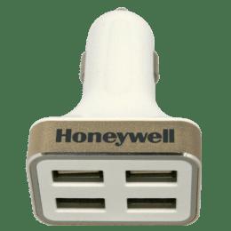 Honeywell Platinum Series 6.8 Amp 4 USB Car Charger (HC000005/CHG/CLA/W, White)_1