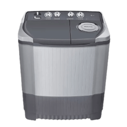 LG 6.5 kg Semi Automatic Top Loading Washing Machine (P7550R3FA, Dark Grey)_1