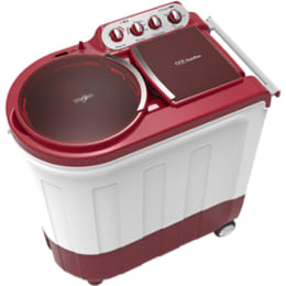 Whirlpool 8 kg Semi Automatic Top Loading Washing Machine (ACE 80 STN FREE CO, Red)_1