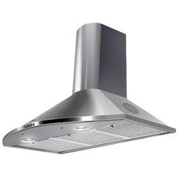 Faber Tender 3D 1095 m³/hr 90cm Wall Mount Chimney (Baffle Filter, T2S2 LTW 90, Stainless Steel)_1