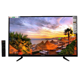 Hitachi 107 cm (42 inch) Full HD LED TV (LD42SY01A-CIW2, Black)_1