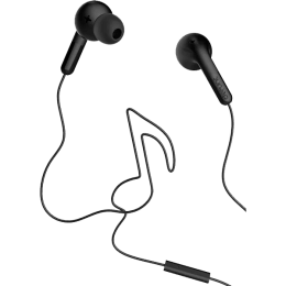 Defunc Go Music In-Ear Wired Earphones with Mic (Black)_1