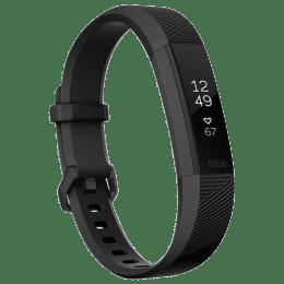 Fitbit Alta HR Small Fitness Tracker (Bluetooth LE Wireless Technology, FB408GMBKS, Black Gunmetal, Elastomer Band)_1