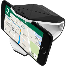 Tizum Covert Universal Car Mount Cradle for Smartphones (TM-CH-110-WHT, Black/White)_1