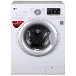 LG 7.5 kg Fully Automatic Front Loading Washing Machine (FH0G7EDNL12, White)_1