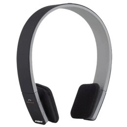 Envent BoomBud ET-BTHD001-BK Bluetooth Headphones (Black)_1