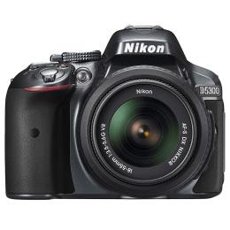 Nikon 24.2 MP DSLR Camera Body with 18 - 55 mm Lens (D5300, Black)_1