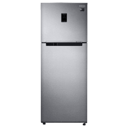 Samsung 415 Litres 3 Star Frost Free Inverter Double Door Refrigerator (Twin Cooling Plus, RT42M553ESL/TL, Real Stainless)_1