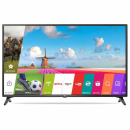 LG 124 cm (49 inch) Full HD LED Smart TV (49LJ617T, Black)_1