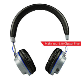 boAt Rockerz 390 On Ear Headphones (Blue)_1