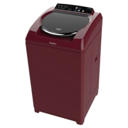 Whirlpool 7.5 kg Fully Automatic Top Loading Washing Machine (360 Bloomwash Ultra, Wine)_1