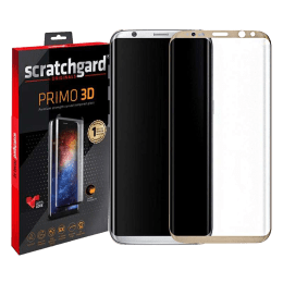 Scratchgard 3D Tempered Glass Screen Protector for Samsung Galaxy S8 (Transparent)_1