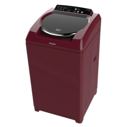 Whirlpool 7 kg Fully Automatic Top Loading Washing Machine (360 Bloomwash Ultra, Wine)_1